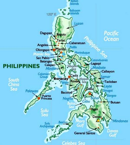 geography of the philippines Philippines: philippines, island country of southeast asia in the western pacific ocean it is an archipelago consisting of some 7,100 islands and islets lying about 500 miles (800 km) off the coast of vietnam manila is the capital, but nearby quezon city is the country's most-populous city both are part of.