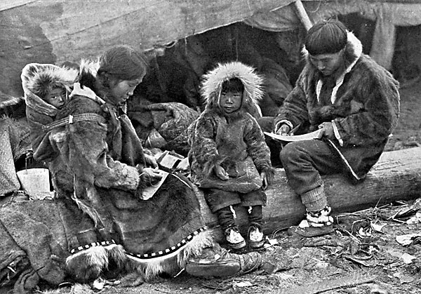 Native Aleut People of Alaska