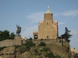 Georgia_religion Church in Tbilisi