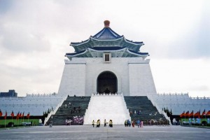 Taiwan_largest city Memorial Hall in Taipei